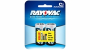 Rayovac 814-2  Alkaline 'C' Cell Batteries 2 per Package