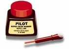 Pilot Pen 43700  1oz Refill Ink for Permanent Markers - Red (SCRF-RED)