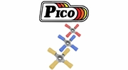 Pico 4-Way Connectors Vinyl Insulated