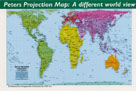 PETERS  MAP REFRIGERATOR MAGNET