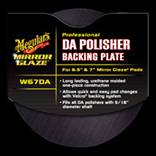 MEG-W-64DA MEGUIARS 6.5in Dual Action Velcro Backing Plate W/ 5/16 Stud