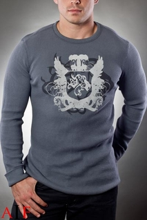 Sweater Gray Thermal
