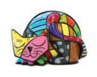 Tim (Cat) Collectable by Romero Britto