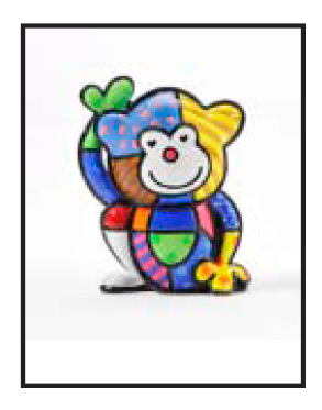 Cheeky Miniature Collectable by Romero Britto