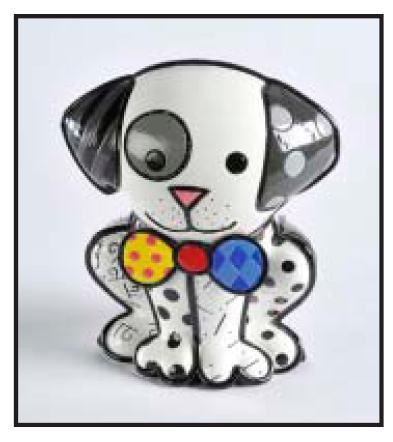 Dalmation Collectable by Romero Britto
