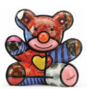 Happy Bear Collectable by Romero Britto