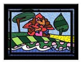 House of Love by Romero Britto