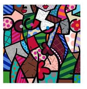 Three Graces Autumn by Britto