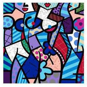 Three Graces Winter by Britto