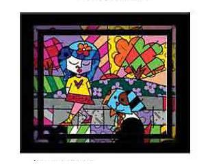 Great Pals - Serigraph by Romero Britto