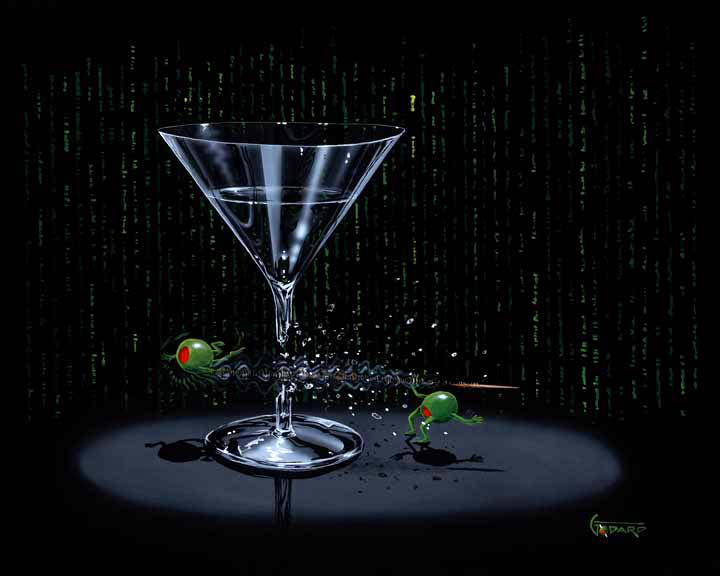 Matrix Martini by Godard