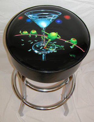 Dirty Martini Bar Stool by Godard