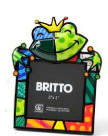 Frog Frame by Romero Britto 331694