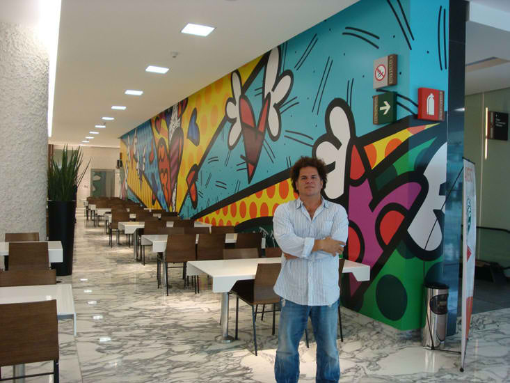 New Day Mural for New Life by Britto