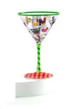 Fun Martini Glass by Romero Britto 331642