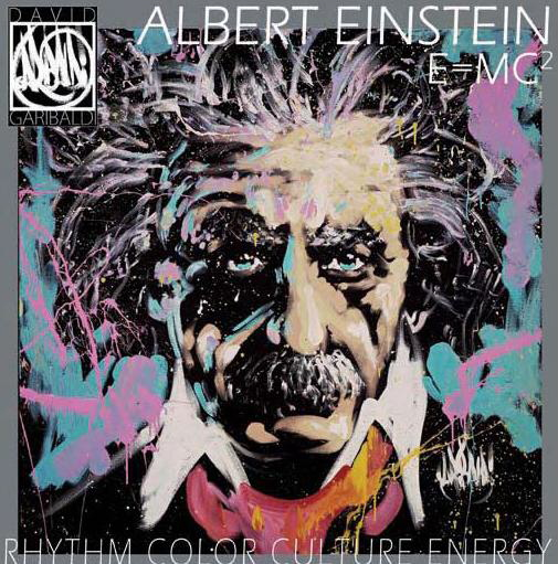 Albert Einstein - e = mc2