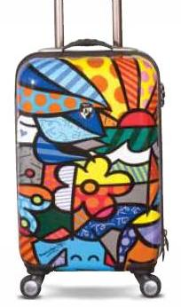 "Garden 22"" Luggage by Romero Britto + Heys"