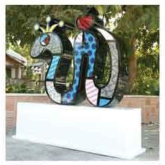 Big Temptation Sculpture by Britto (CALL FOR PRICING)