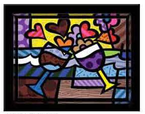 Glasses by Romero Britto