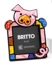 Pig Frame by Romero Britto 331693