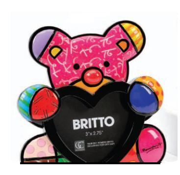 Fun Bear Photo Frame by Romero Britto 331699