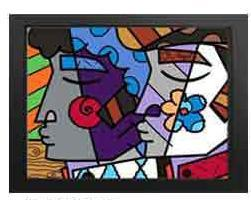 Mirror Giclee by Romero Britto