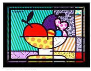 Cheryl's Bowl by Romero Britto