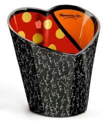 Romero Britto Heart Shaped Ice Bucket 331662