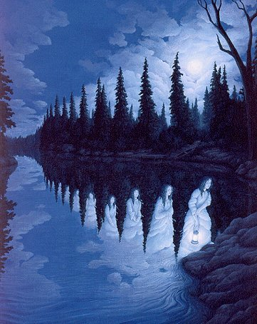 Ladies of the Lake by Rob Gonsalves
