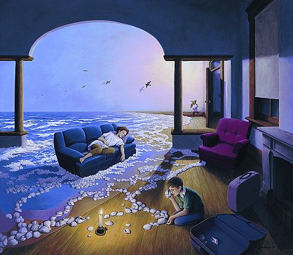 Making Waves by Rob Gonsalves