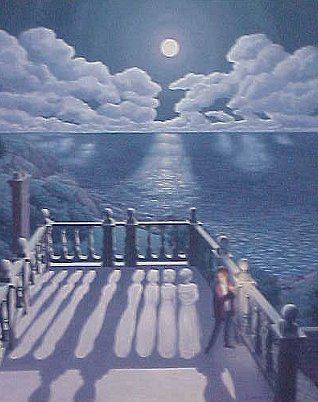 Widows Walk II by Rob Gonsalves
