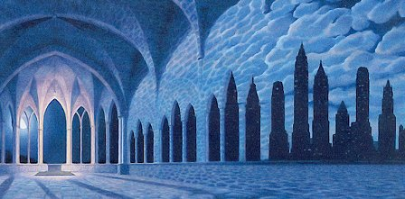 Cathedral of Commerce by Rob Gonsalves
