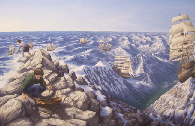 Alpine Navigation by Rob Gonsalves