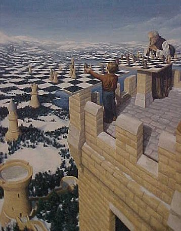 Chess Master by Rob Gonsalves