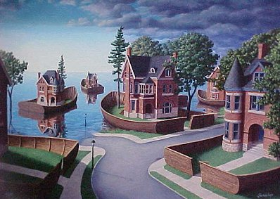 Flood Fences by Rob Gonsalves