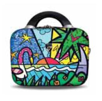 "Palm 12"" Beauty Case by Britto + Heys"