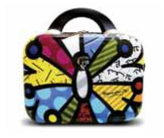 "Butterfly 12"" Beauty Case by Britto + Heys"