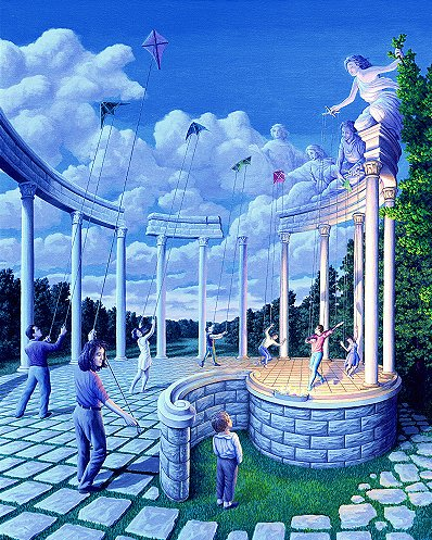 Pulling Strings by Rob Gonsalves