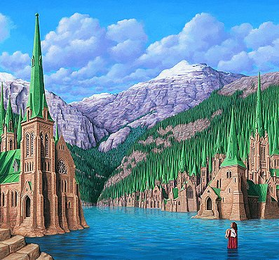 Wilderness Gothic by Rob Gonsalves
