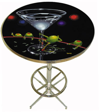 Dirty Martini - Even Dirtier Pub Table by Godard
