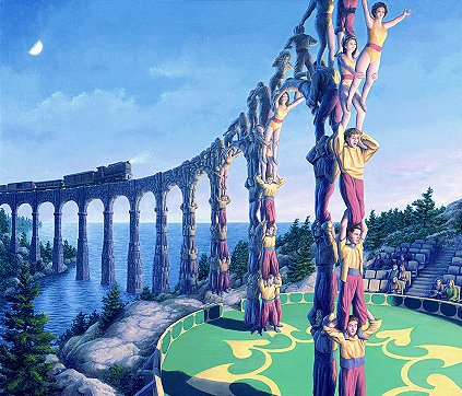 Acrobatic Engineering by Rob Gonsalves