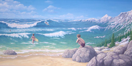 Aquatic Mountaineering by Rob Gonsalves