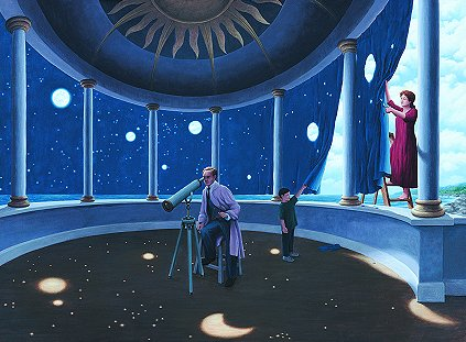 Astral Projections by Rob Gonsalves