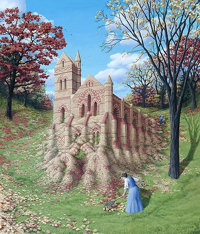 Autumn Architecture by Rob Gonsalves