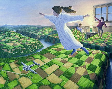 Bedtime Aviation by Rob Gonsalves