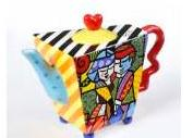 Dance Teapot by Romero Britto