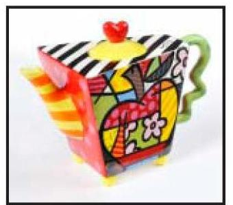 4th of July Special !!!! Apple Teapot by Romero Britto 331304