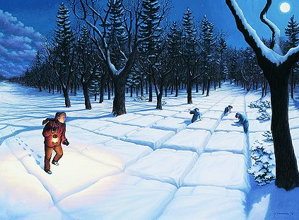Cold Comfort by Rob Gonsalves