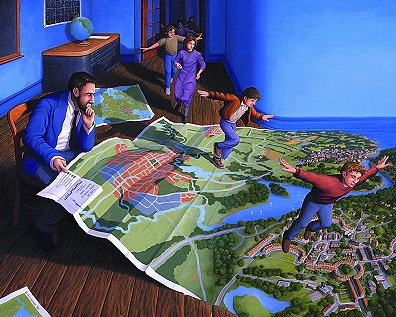 Flight Plan by Rob Gonsalves
