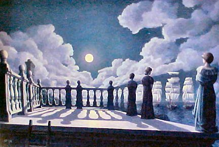 Widow Walk by Rob Gonsalves